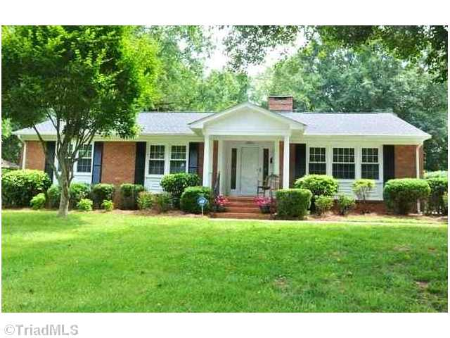 One of North Greensboro 3 Bedroom Ranch Homes for Sale